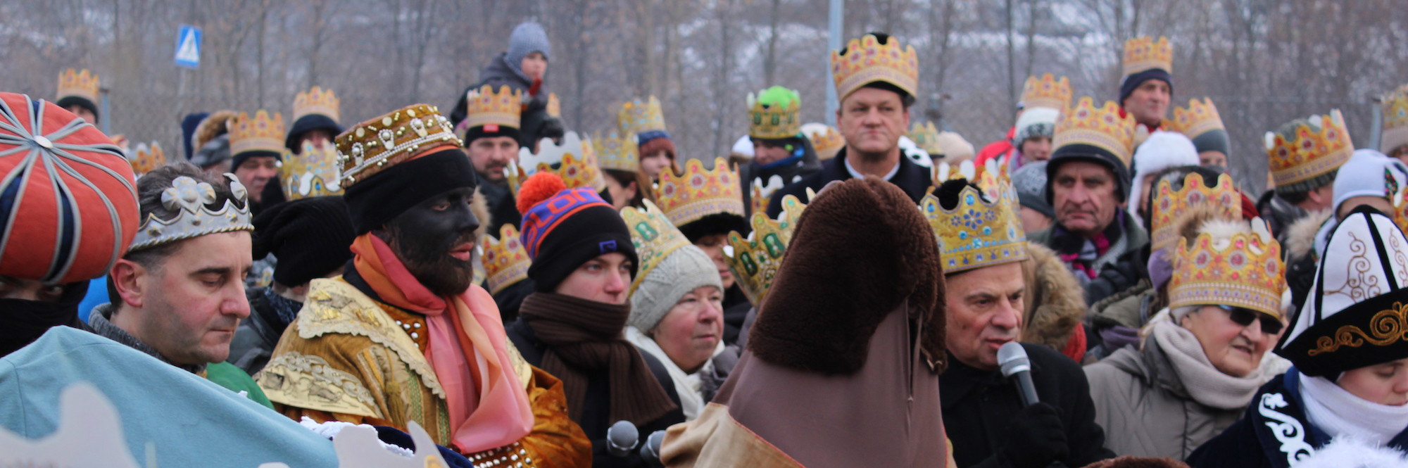 Orszak Trzech Króli w Luboniu